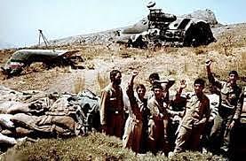 Final de la guerra Irano-Iraquí.