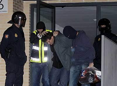 La guardia civil desarticula el comando Urbasa de ETA.