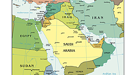 Timeline of the Modern Middle East - A Block