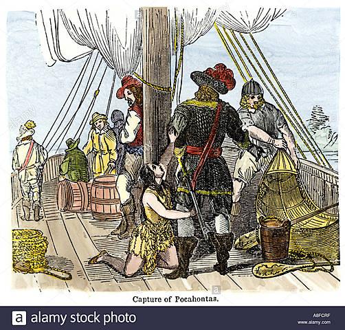 Pocahontas is Captured