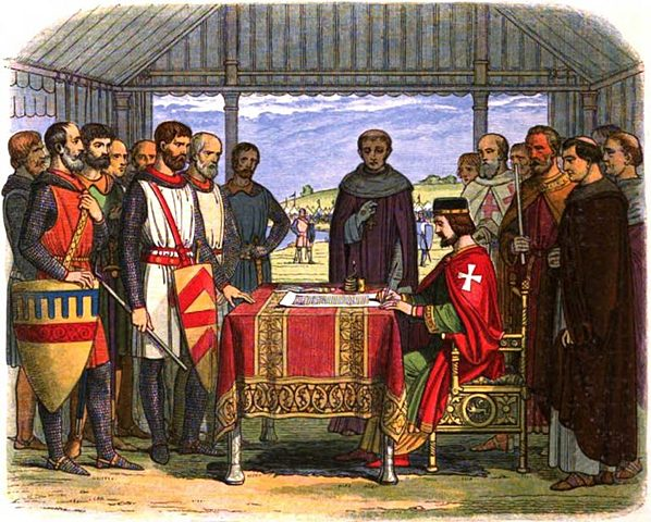 "The Magna Carta (""Great Charter"")"