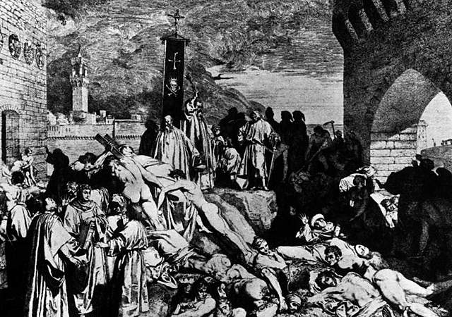 The Black Death kills one third of the British population