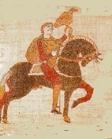 Harold II is crowned the king of England