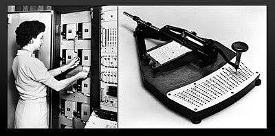 Leitor de cartões perfurados - Antecedentes da IBM