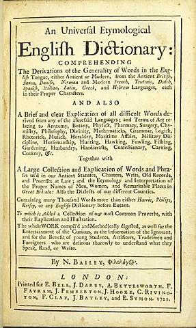 Universal Etymological Dictionary of the English Language