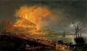 Eruption of Mt. Vesuvius
