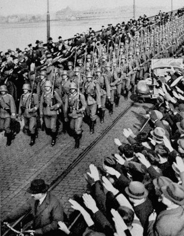Nazis March into the Rhineland