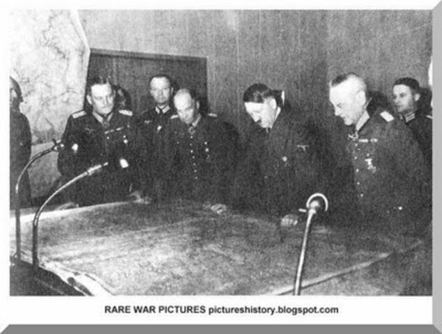 Hitler Reveals War Plans