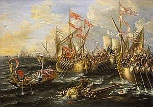 Octavian defeats Cleopatra and Marc Antony