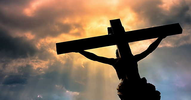 Jesus is crucified