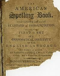 """Noah Webster publishes """"The American Spelling Book"""""""