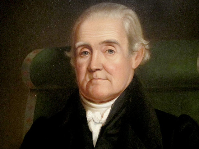 """Noah Webster publishes his """"The American Dictionary of the English Language"""""""