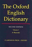 """Second edition of the """"Oxford English Dictionary"""" is published"""
