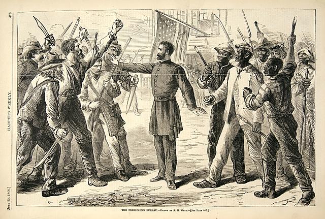United States ends slavery after Civil War