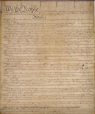 New U.S Constitution becomes law