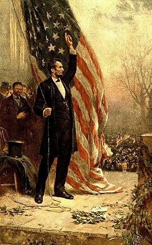 Lincoln becomes the 16th President