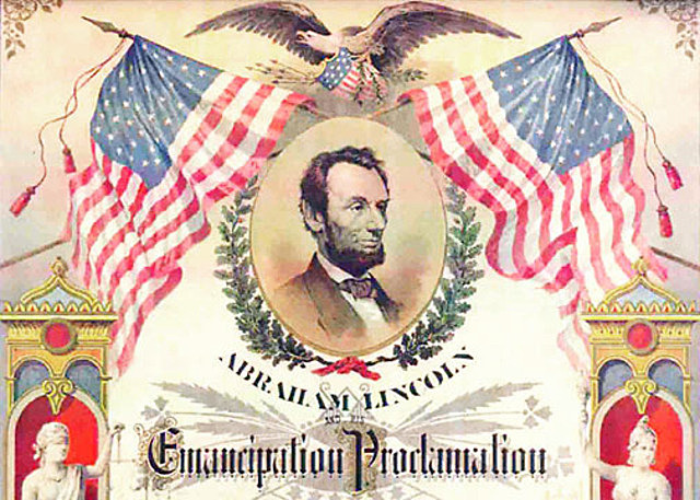 Emancipation Proclamation is Issued