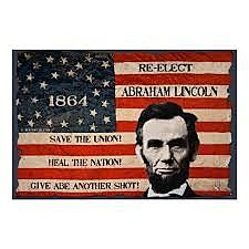 Lincoln gets Re-elected