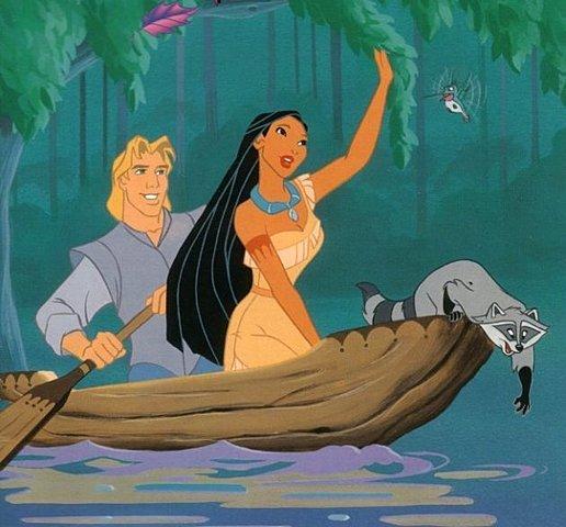 Pocahontas Lives Among the English