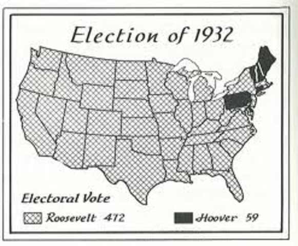 Election of 1932 - African-Americans Vote Democratic