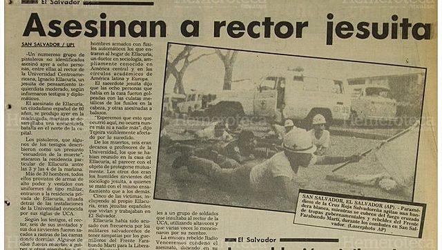 Asesinatos de Jesuitas en la  UCA