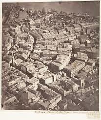 Primera fotografia aerea