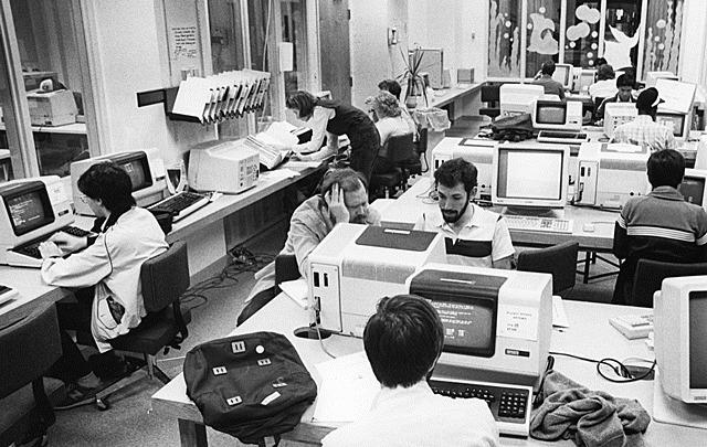 Primera red de ordenadores