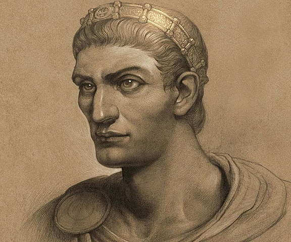 Constantine the Great is born