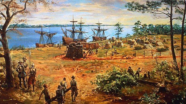 Settlement at Jamestown, VA