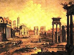 The Great Fire rages in Rome