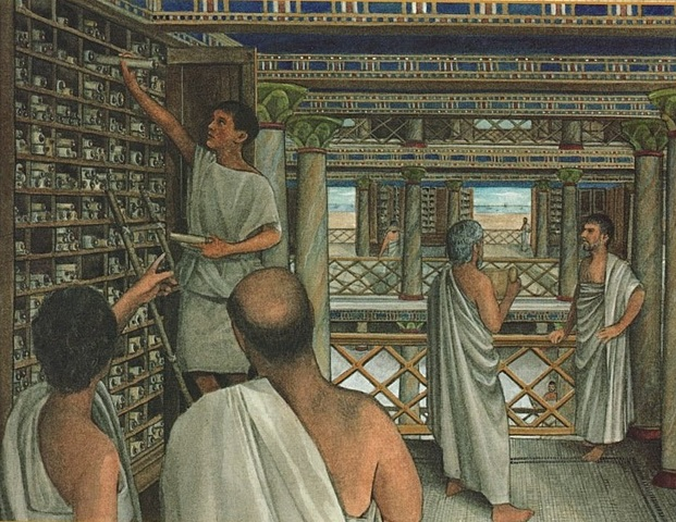 Primeras Bibliotecas