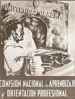 Primer comisión Nacional de Aprendizaje y Orientación Profesional