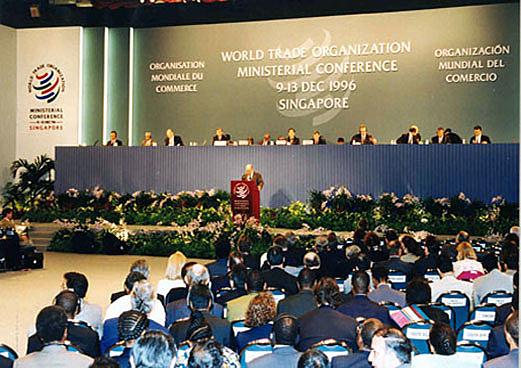 1era Conferencia Ministerial en Singapur