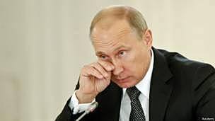 El presidente de Rusia, Vladimir Putin afirmó que las sanciones impuestas por occidente contra ellos, violó los principios de la OMC