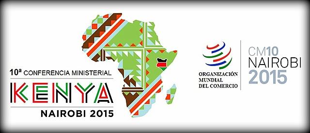 Diciembre de 2015. Se celebra en Nairobi (Kenia) la Décima Conferencia Ministerial