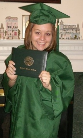 Graduated with an Associate degree in Science