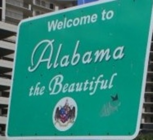 Moved to Alabama from Virginia