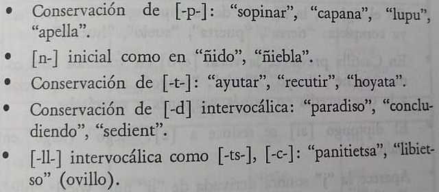 ETAPA DEL ESPAÑOL PREALFONSÍ: Zonas dialectales: navarro-aragonés.