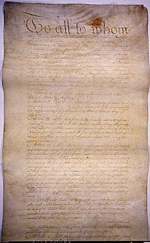 The Article of Confederation