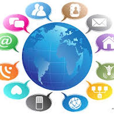 Types of Electronic Communication timeline