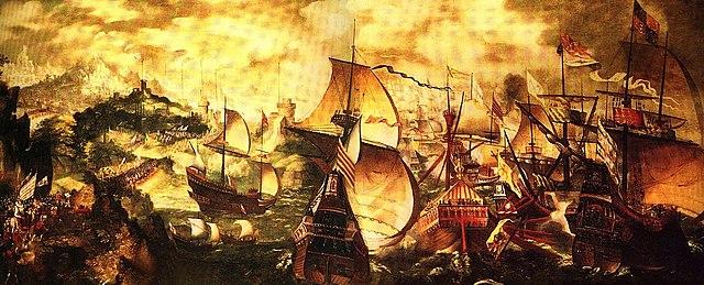La Gran Armada es derrotada: final de la hegemonía en España.