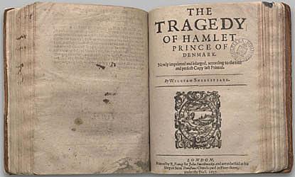 S'inicia el gran siglo del teatro amb Shakespeare, amb l'obra de Hamlet.