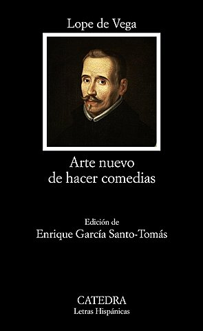 Lope de Vega publica Arte nuevo de hacer comedias: renovación del teatro nacional