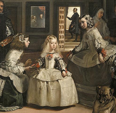 Velázquez pinta Las meninas.