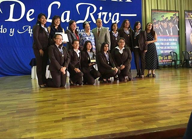 Participación en el Concurso Nacional De La Riva