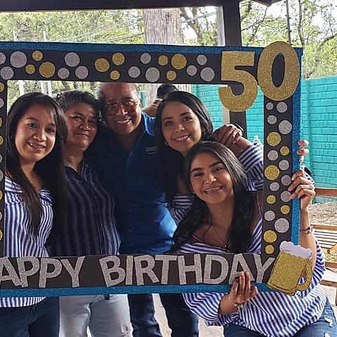 Cumpleaños 50 de mi papá