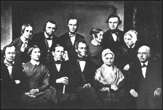 Formation of the the American Anti-Slavery Society in Philadelphia