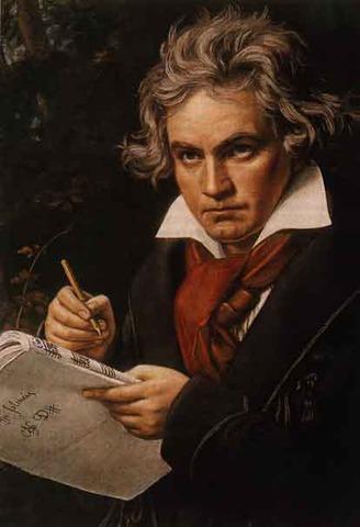Ludwig van Beethoven (1770- 1827)