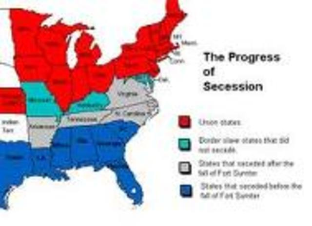 North Carolina becomes the last state to secede