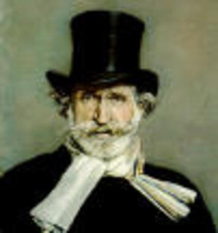Giuseppe Verdi (1813- 1901)
